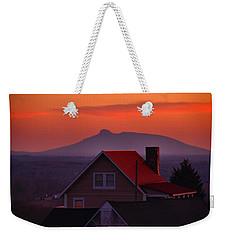Pilot Sunset Overlook Weekender Tote Bag by Kathryn Meyer