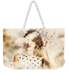 Weekender Tote Bag featuring the photograph Pin-up Your Dreams by Jorgo Photography - Wall Art Gallery