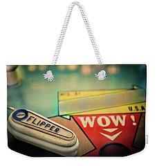 Pinball - Flipper Weekender Tote Bag