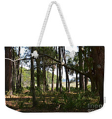 Weekender Tote Bag featuring the photograph Pinckney Island by Carol  Bradley