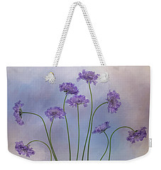 Weekender Tote Bag featuring the photograph Pincushion #3 by Rebecca Cozart