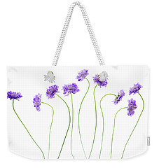 Weekender Tote Bag featuring the photograph Pincushion #4 by Rebecca Cozart