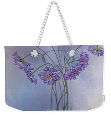 Weekender Tote Bag featuring the photograph Pincushion #5 by Rebecca Cozart