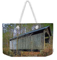 Pine Brook Bridge Weekender Tote Bag