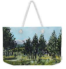 Pine Landscape No. 4 Weekender Tote Bag