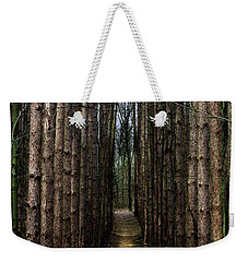 Pine Path  Weekender Tote Bag