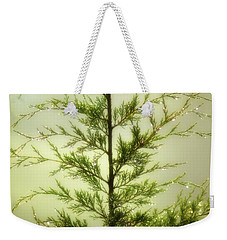 Weekender Tote Bag featuring the photograph Pine Shower by Brian Wallace
