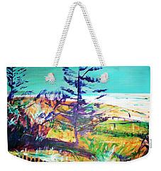 Pine Tree Pandanus Weekender Tote Bag
