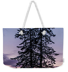 Pine Tree Silhouette    Weekender Tote Bag