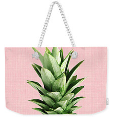 Pineapple And Pink Weekender Tote Bag by Vitor Costa