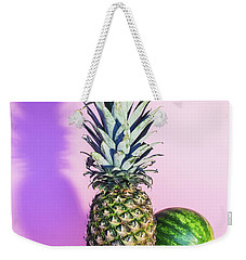 Pineapple And Watermelon Weekender Tote Bag