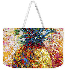 Pineapple Expression Weekender Tote Bag