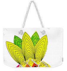Pineapple Head Weekender Tote Bag