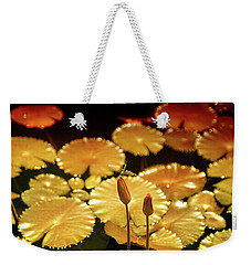 Pineapple Pond Weekender Tote Bag