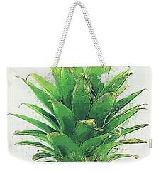 Pineapple Weekender Tote Bag by Taylan Apukovska