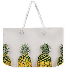 Pineapples Weekender Tote Bag