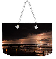 Pineland Nights Weekender Tote Bag