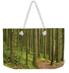 Pines Ferns And Moss Weekender Tote Bag