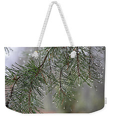Pines Of Winter Weekender Tote Bag