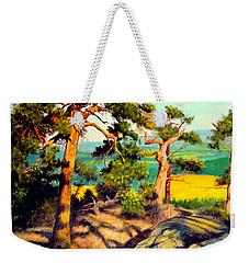Pines On The Rocks Weekender Tote Bag