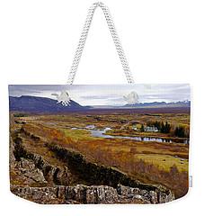Pingvellir National Park Iceland Weekender Tote Bag
