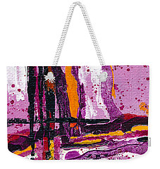 Pink Abstraction Weekender Tote Bag