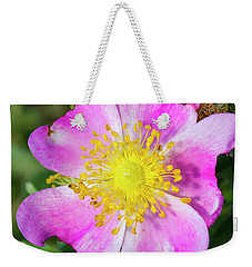 Pink An Yellow Weekender Tote Bag
