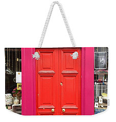 Pink And Orange Door Ireland Weekender Tote Bag