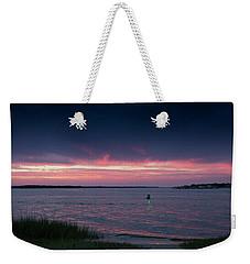 Pink And Purple Afterglow Weekender Tote Bag