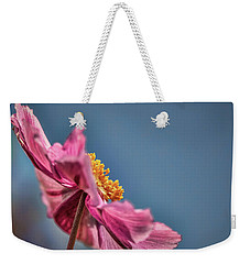 Weekender Tote Bag featuring the photograph Pink And Yellow Profile #h8 by Leif Sohlman