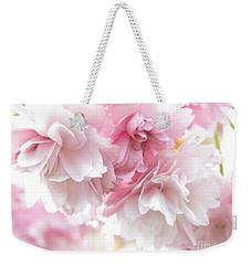 Pink April Weekender Tote Bag by Kim Tran