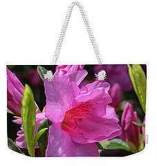 Pink Azalea Weekender Tote Bag