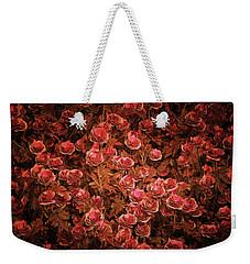 Pink Bionica Roses Weekender Tote Bag