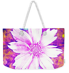 Pink Bloom Weekender Tote Bag