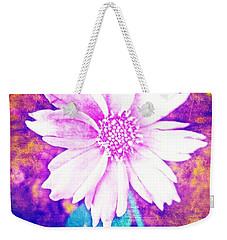 Pink Bloom Weekender Tote Bag by Rachel Hannah