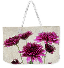 Pink Bouquet Weekender Tote Bag by Judy Vincent