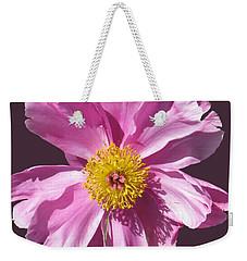Pink Burst Weekender Tote Bag