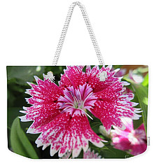 Pink Carnation  Weekender Tote Bag