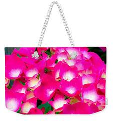 Pink Cascade Weekender Tote Bag