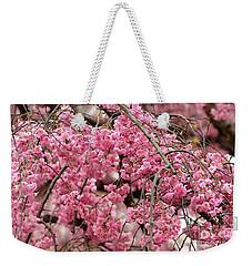 Pink Cherry Blossom Japan Arashayama Spring Holiday Diaries Weekender Tote Bag