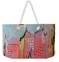 Pink City Weekender Tote Bag