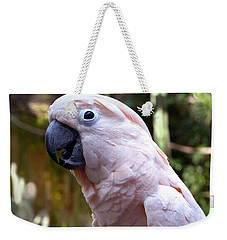 Pink Cockatoo Weekender Tote Bag