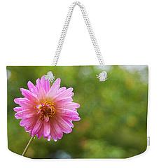 Pink Dahlia 1 Weekender Tote Bag