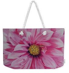 Pink Dahlia I Weekender Tote Bag