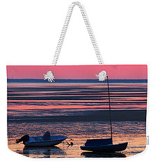 Weekender Tote Bag featuring the photograph Pink Dawn by Dianne Cowen