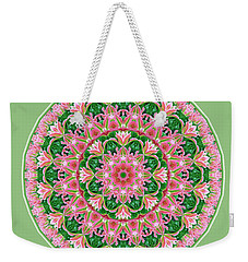 Pink Delight Weekender Tote Bag
