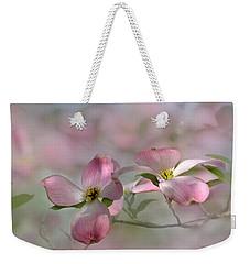 pink Dogwood 03 Weekender Tote Bag
