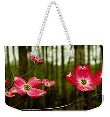 Pink Dogwood Flowers Weekender Tote Bag