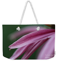 Weekender Tote Bag featuring the photograph Pink Elegance by Yumi Johnson