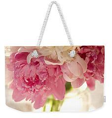 Pink Floal Weekender Tote Bag by George Robinson
